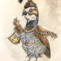 Madame Quail Goes Out