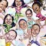 Dance Class Caricatures